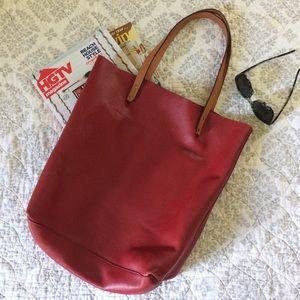 OS GAP Leather Shoulder Bag